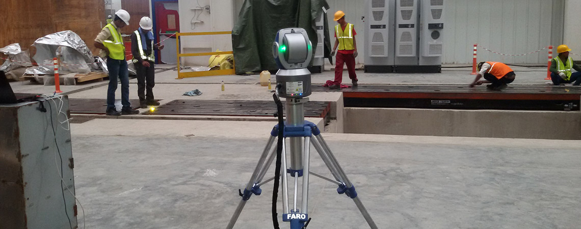 Large Volume Inspection with Laser Tracker